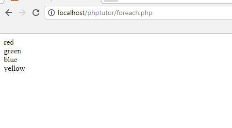 browser foreach